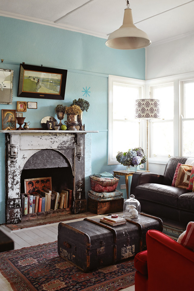 House Tour: Vintage And Global Melbourne Home