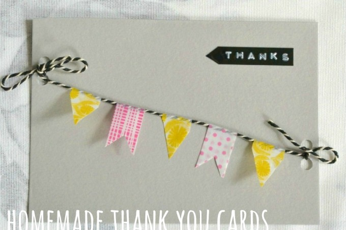 Homemade Thank You Card Ideas Archives Decorator S Notebook