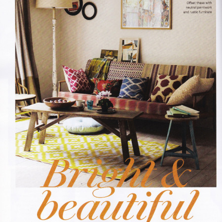 Decorator's Notebook in Country Living 1