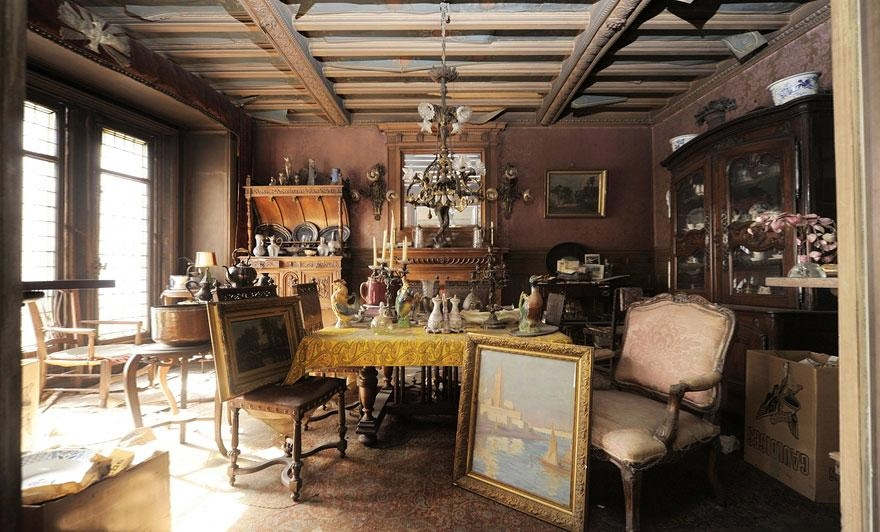 Paris apartment of socialite Madame de Florian 1942