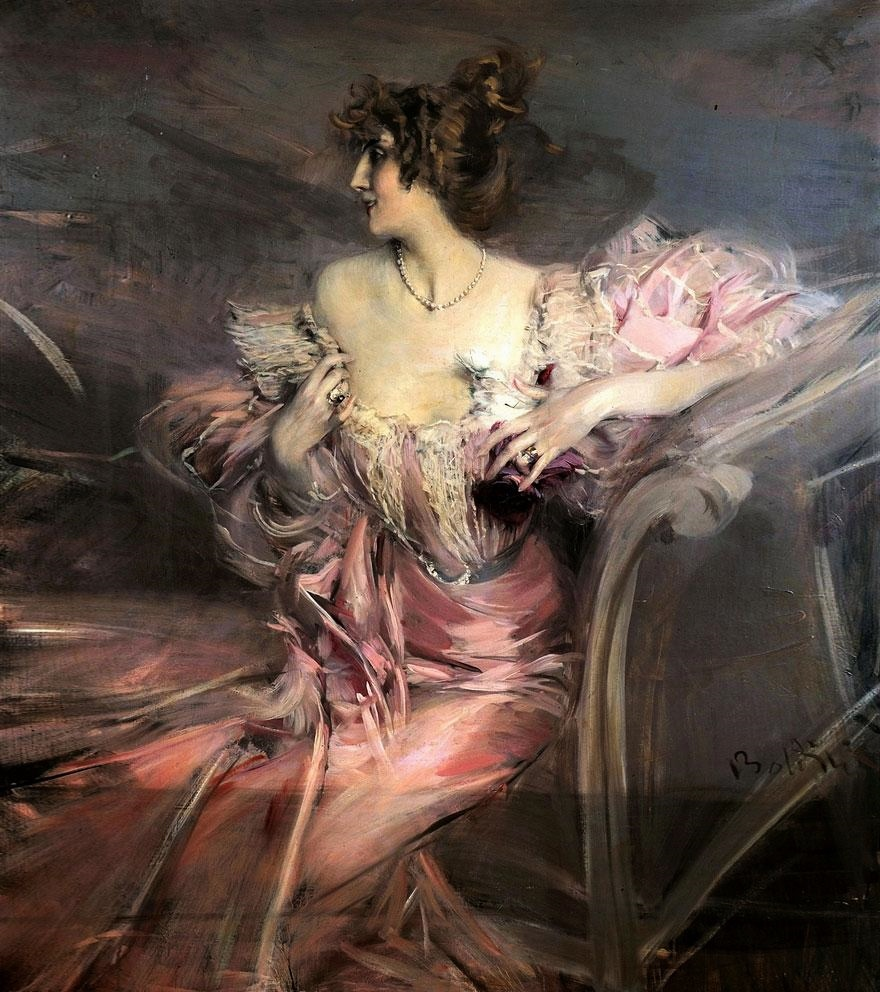 Portrait of Marthe de Florian by Giovanni Boldini