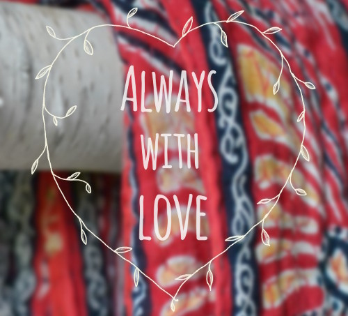 Decorator's Notebook - always with love