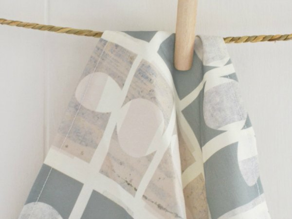 Cutout tea towel - Decorator's Notebook shop