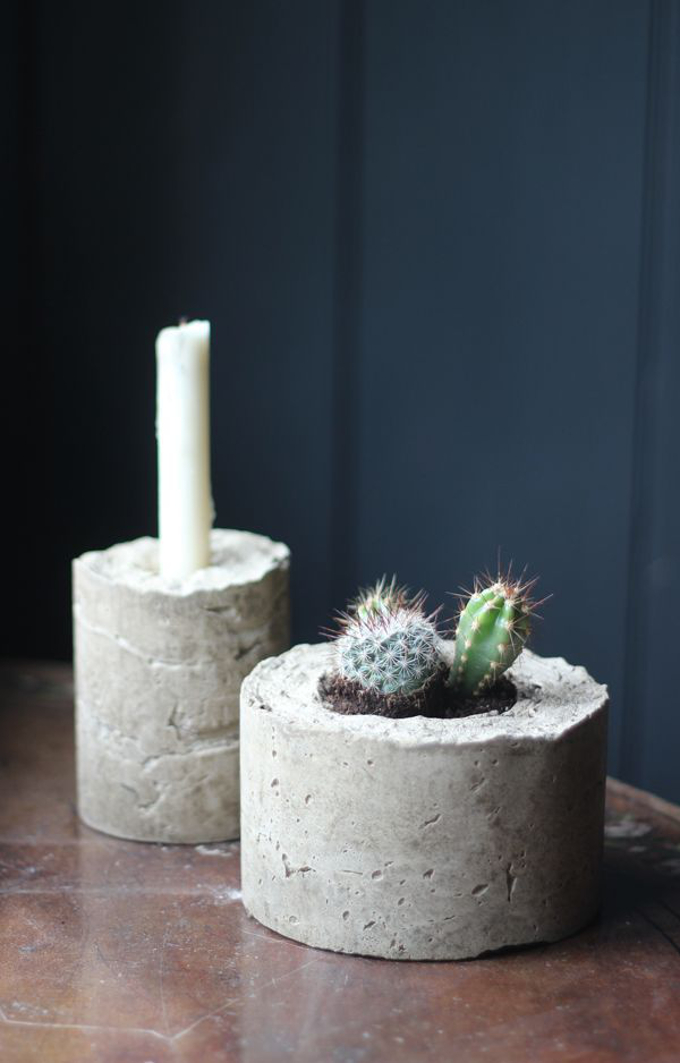 Diy Concrete Planters Decorator 39 S Notebook