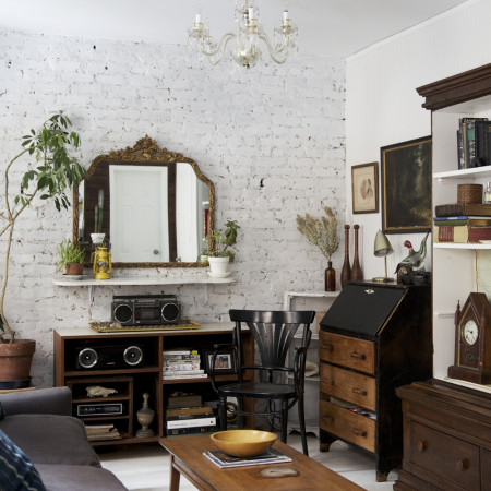 industrial vintage city apartment tour