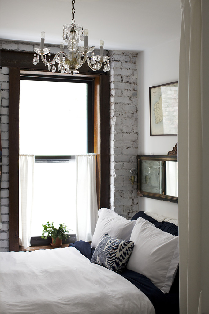 white vintage bedroom