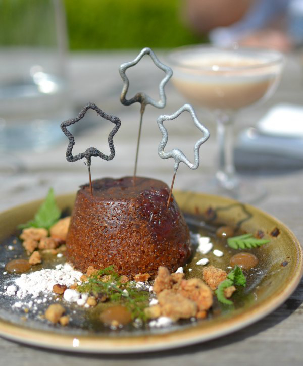 Quince pudding at The Ethicurean restaurant Decorator's Notebook blog