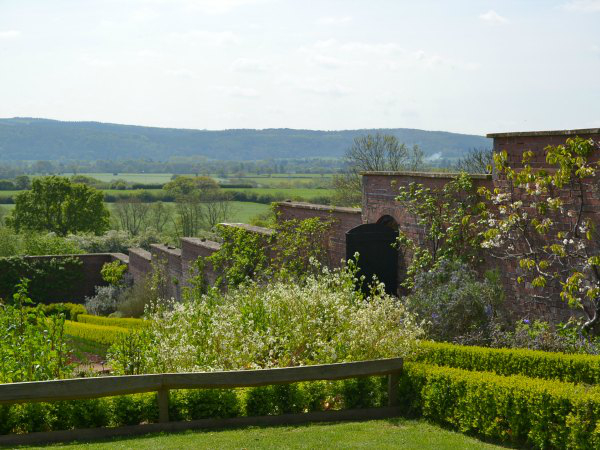 The Ethicurean walled garden - Decorator's Notebook blog