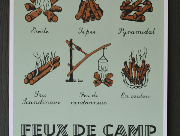 £20 off Campfire screen print for Father's Day