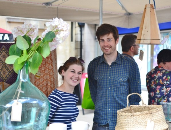 Decorator's Notebook pop up at The Frome Independent Market July 2014 -1