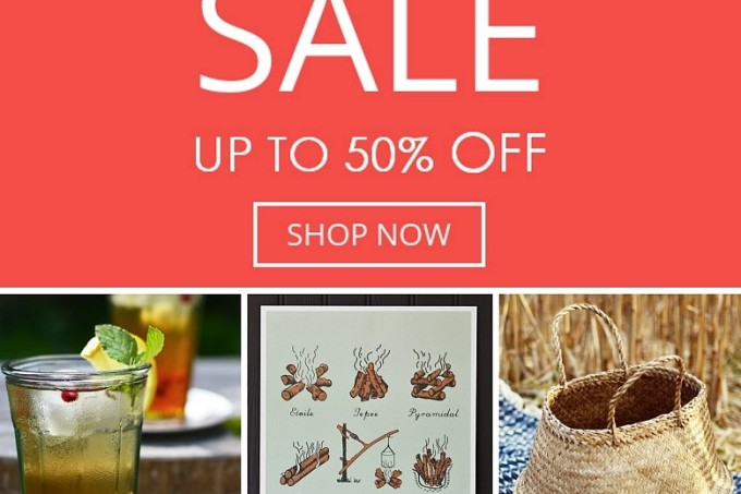 Decorator's Notebook summer sale discounts