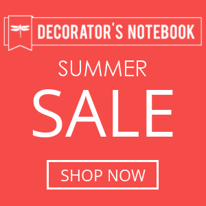 Decorator's Notebook Summer Sale