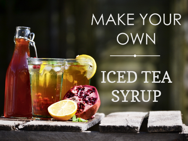 make your own sweet tea,  iced tea syrup, Arnold Palmer Cocktail recipe