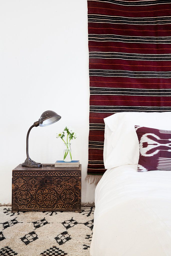 Ethnic bedroom CasaSugar