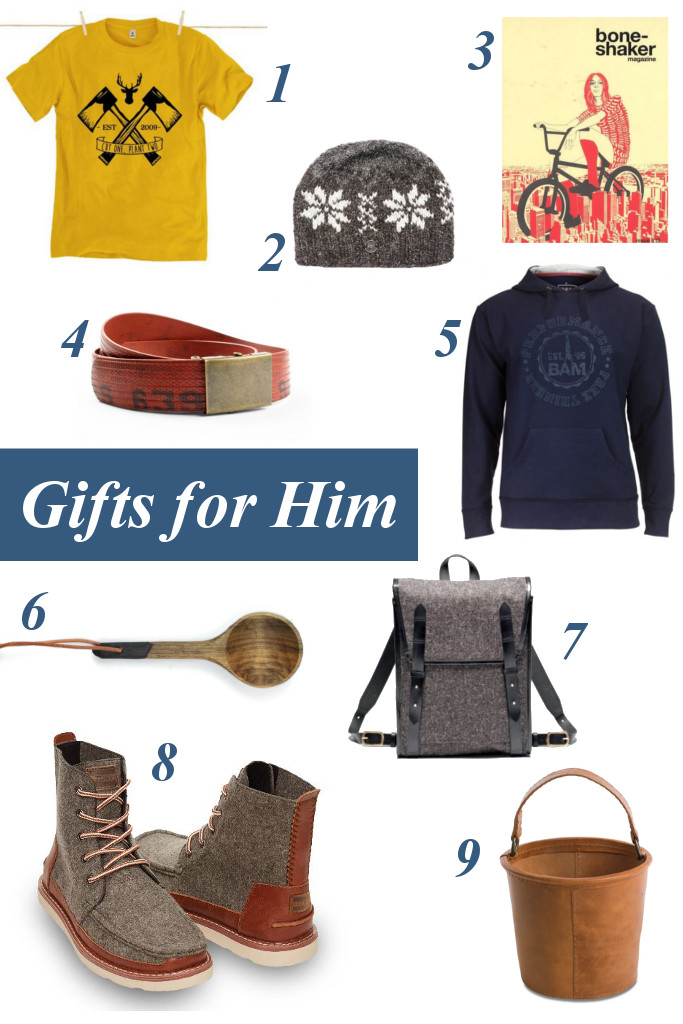 Best ethical gifts for him