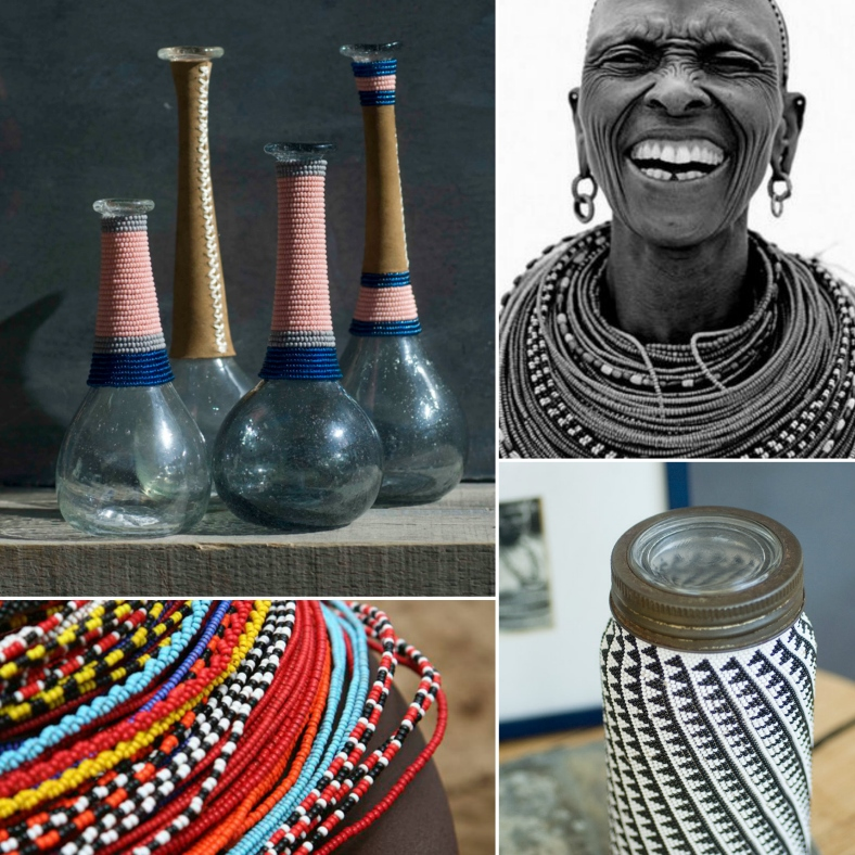 Global interiors trends Maasai beading