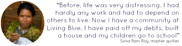 Quote from Sona Rani Roy Living Blue