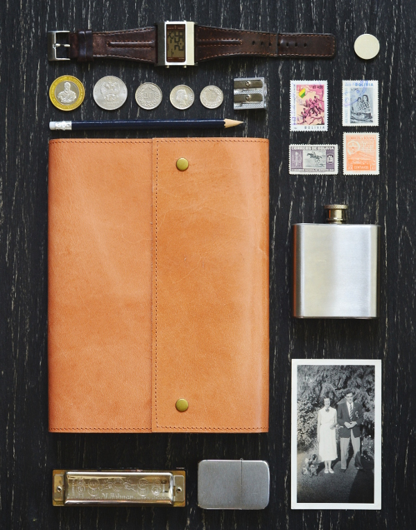 leather fair trade notebook