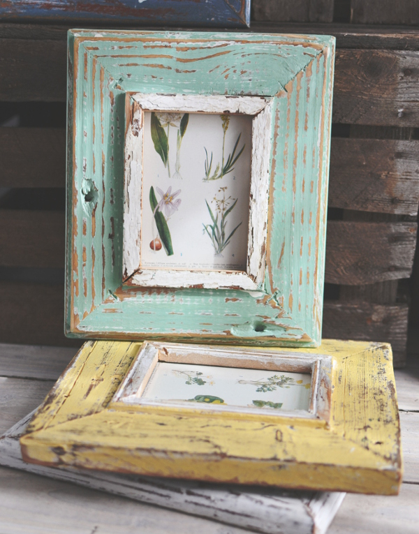 rustic reclaimed wood picture frames