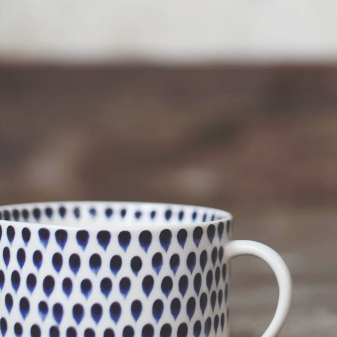 Decorator's Notebook Indigo_drop_ceramic_coffee_cup
