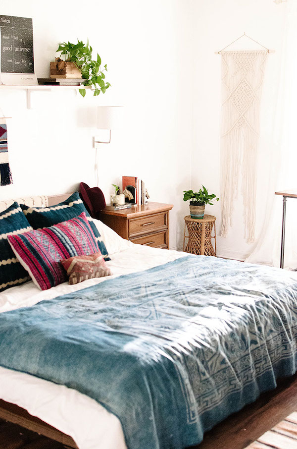 Why This Bedroom Is A Modern Bohemian Masterclass