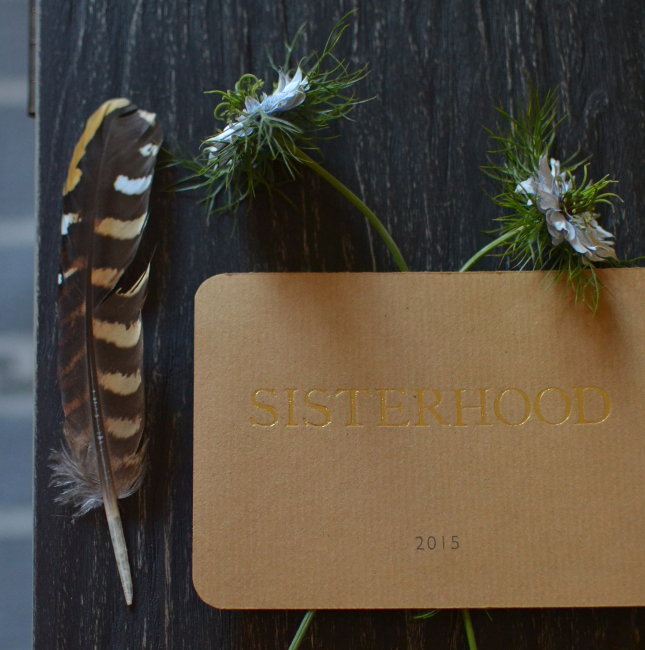 Sisterhood Camp invitation