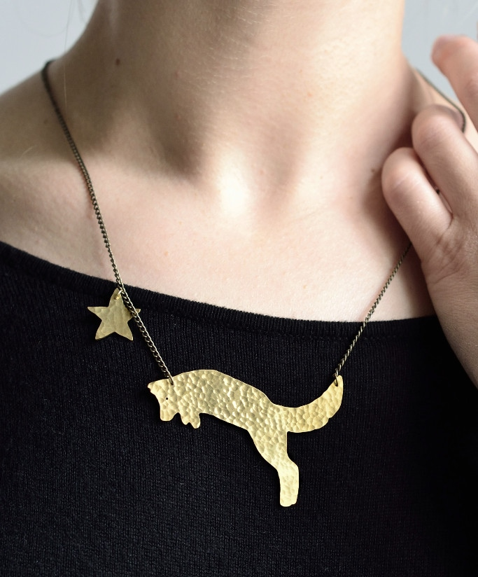 Fair_Trade_Brass_Fox_Necklace