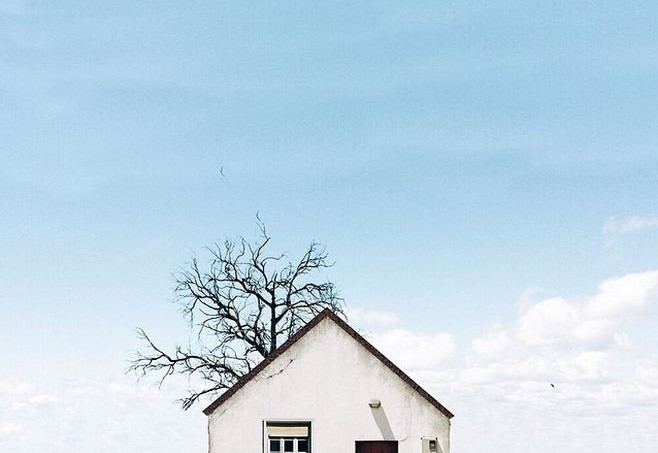 Lonely Houses by Sejkko on Instagram 9