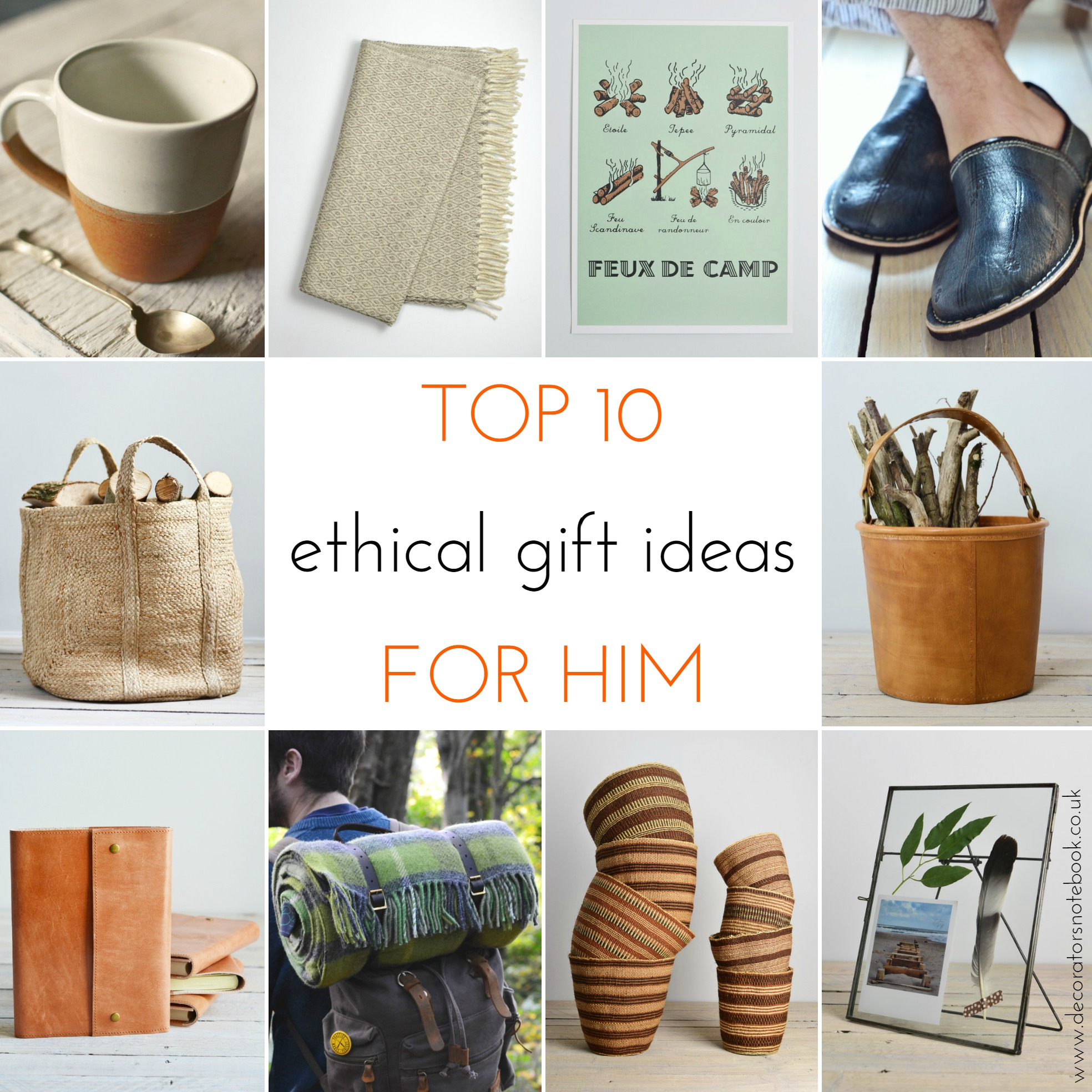 Ethical Christmas Gift Guide 2015 - Decorator\'s Notebook