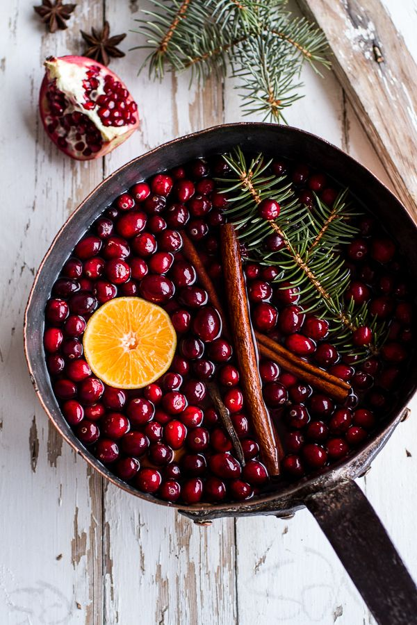natural christmas air fragrance simmer pot