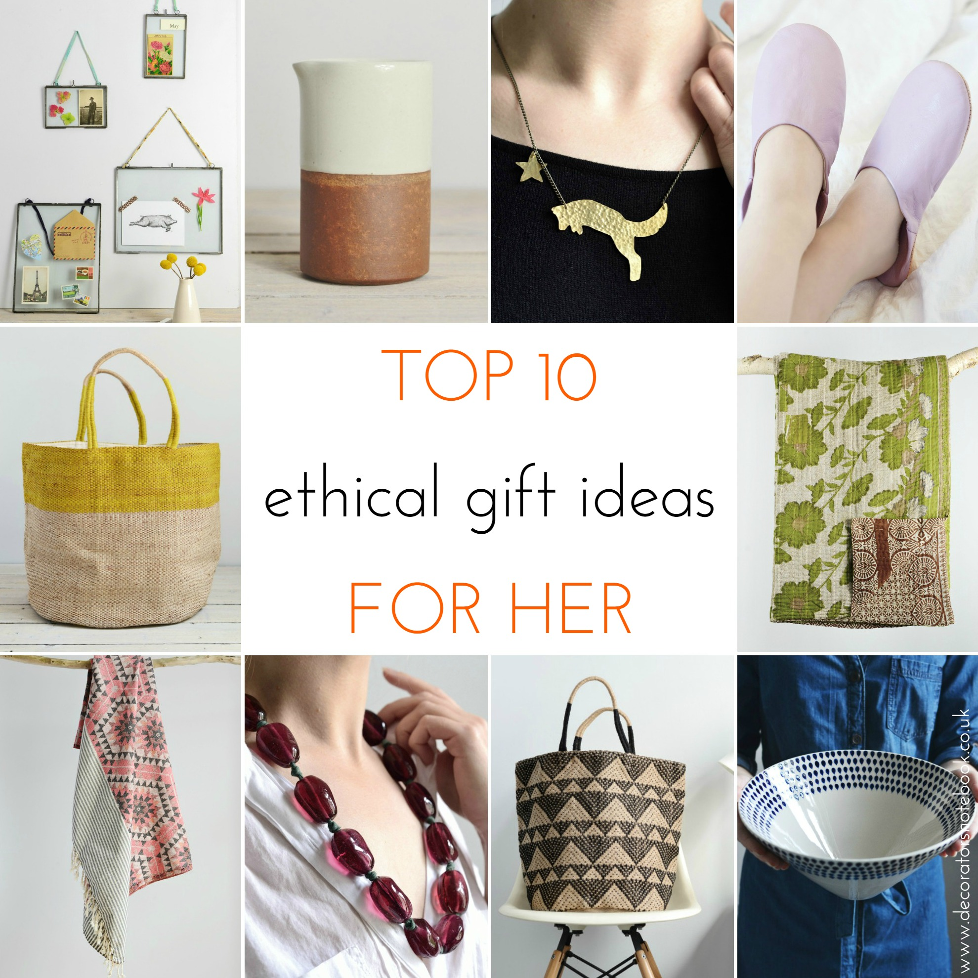 Ethical christmas gift guide 2015 decorator 39 s notebook Best xmas gifts for her