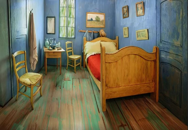 Van Gogh bedroom Airbnb - 7