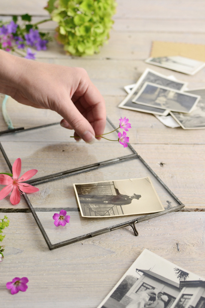 Double sided picture frame collage Decorator's Notebook shop