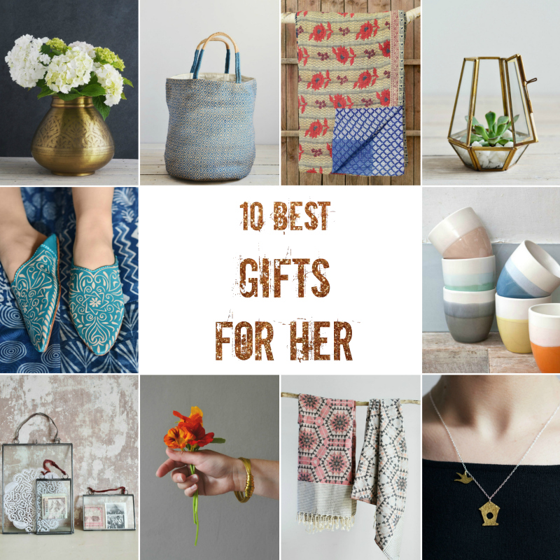 Gifts for Her ethical gifts Decorator's Notebook