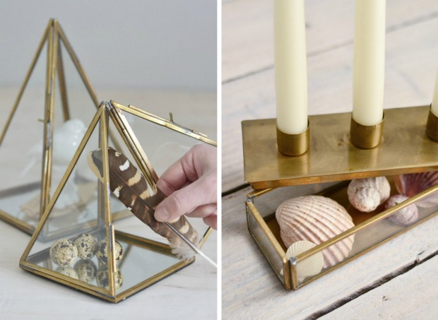 Brass collection display ideas Decorator's Notebook