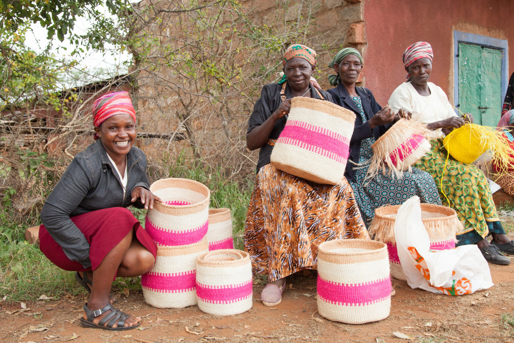 Decorator's Notebook baskets - Kenya 6