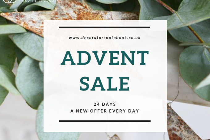Decorator's Notebook Sale