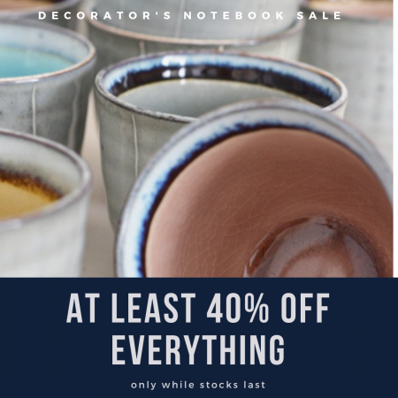 AT LEAST 40% OFF EVERYTHING!