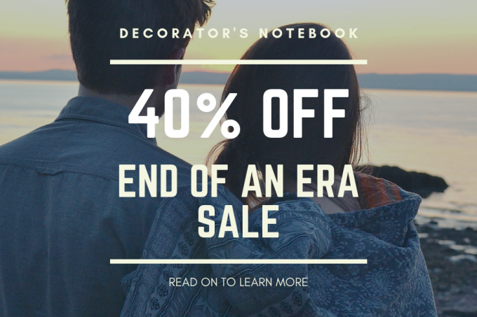 40% Off end of an era sale